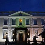 Mansion House at Christmas